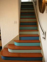 If We Got Rid Of The Carpet On Our Stairway Someday It Would Be - Painted basement stairs