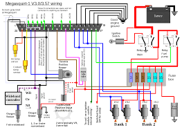 megasquirt 1 external wiring layouts v3 0 board requires a diy modification to directly control a 2 wire pwm idle valve as shown v3 57 is ready to use