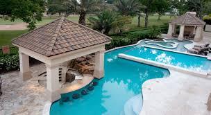 inground pools. Swim Up Bar/Sunken Kitchen Inground Pools