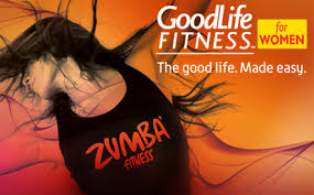 22 for a 30 days of unlimited group exercise cleembership at goodlife fitness