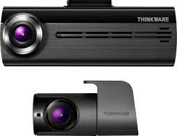 THINKWARE F200D Front and Rear Camera Dash Cam Gray/Black TW-F200D - Best  Buy