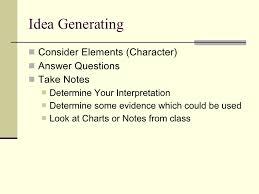 writing a literary analysis essay