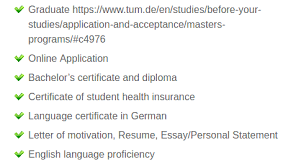 What Kind Of Profile Is Required To Get Admission To The Ms In
