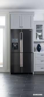 Counter Depth 4-Door Flex Refrigerator with FlexZone