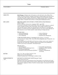 Outline Resume Writing Resume Resume Examples Qrzgq8rldv