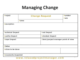 Project Change Order Template Software Change Management Template Software Project Change Request