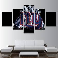 new york giants ny nfl football 5 panel canvas wall art home decor on ny giants canvas wall art with new york giants ny nfl football 5 panel canvas wall art home decor