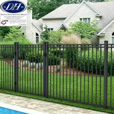 wrought iron privacy fence. Fine Wrought Lowes Iron Fence Aluminum Panel With Gate Privacy Cost  Wrought Intended Wrought Iron Privacy Fence