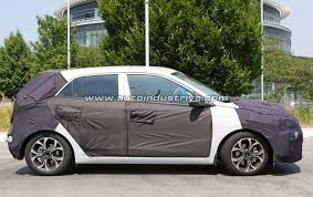 2018 hyundai i20. Unique Hyundai Spied 2018 Hyundai I20 Facelift Spotted For The First Time In Hyundai O