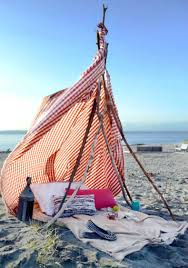 Diy Tent Diy How To Make A Beach Tent