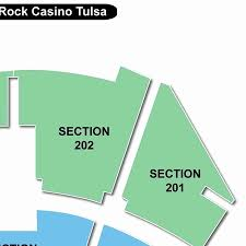 Hardrock The Joint Tulsa Seating Chart The Joint Hard Rock