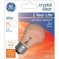 ge 40 watt ceiling fan a15 vibration
