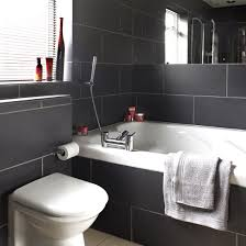 Black And White Bathroom Designs Ideal Home New Black Bathroom Tile Ideas