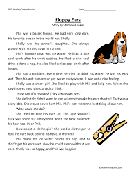First Grade Reading Comprehension Worksheets | Page 2 of 7 | Have ...