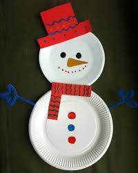 I Love This Every Child Paints A Paper Plate Put Them Together Christmas Paper Plate Crafts