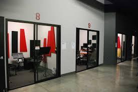 soundproof studio sliding glass doors