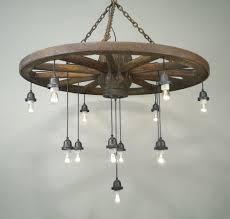 wagon wheel lighting. wagon wheel light fixture with mason jars lighting e
