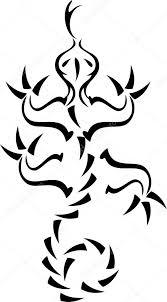 šablona Návrhu Tetování Ještěrky Stock Vektor Realmcoy 1668465
