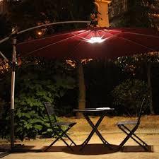 outdoor lighting solar powered led patio umbrella color changing solar lights patio umbrella string lights