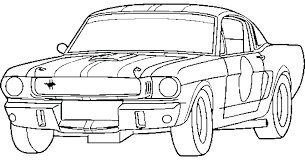 Ford Mustang Coloring Pages Suhogarinmobiliariaco