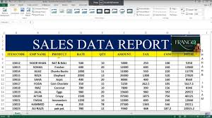 Daily Sales Report Excel Salesreport Under Fontanacountryinn Com