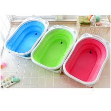 portable foldable baby bathtub kid bather space saving bath tub 3 colours available
