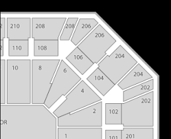 Download Hd Mgm Grand Garden Arena Seating Chart Seatgeek