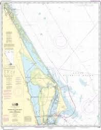 Oceangrafix Noaa Nautical Chart 11484 Ponce De Leon Inlet