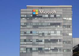 office facade. Download Microsoft Corporation Office Building Facade With Logo In Herzliya Editorial Stock Image - Of