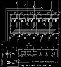 7 segment clock circuit diagram the wiring diagram circuits > 7 segment digital clock circuit using ic 5314 pcb wiring diagram