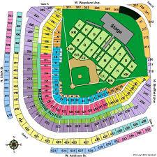 Genuine Cubs Seats Chart Key Arena Seating Chart Pearl Jam