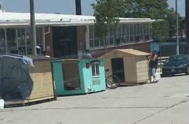 Small Picture Tiny Mobile Houses for the Homeless Raise Ire in San Pedro KTLA