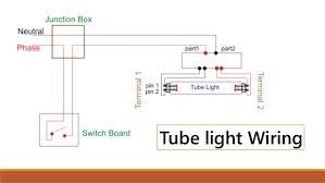 wiring diagram tube light best secret wiring diagram • stair case wiring and tubelight wiring rh slideshare net wiring diagram for fluorescent tube light wiring diagram for double tube light