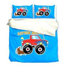 monster truck bedding comforter set twin monster truck bedding