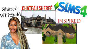 Shereé Whitfield's Chateau Shereé in The Sims 4 Speed Build - YouTube