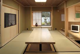 Image Architecture View In Gallery Japanese Style Home Office With Hydraulically Controlled Desk design Ki Arts Decoist 10 Creative Home Offices With An Asian Influence