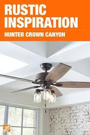 hunter crown canyon 52 in indoor regal bronze ceiling fan hunter 52 ceiling fan hunter highbury