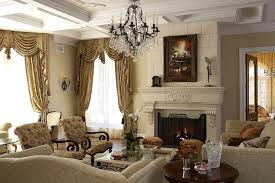 Traditional Living Room Curtains With Valance  Living Room Traditional Living Room Curtains