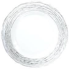 clear glass dessert plates bulk etched antique