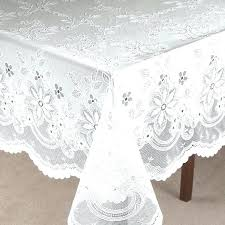 90 inch round vinyl tablecloth lace tablecloths