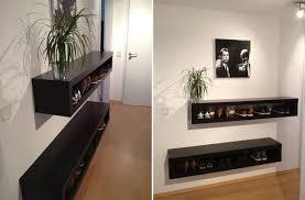 ikea lack tv unit turned into shoe storage