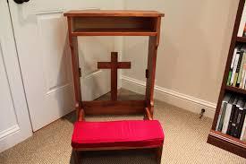 Prayer Bench  EtsyAnglican Prayer Bench