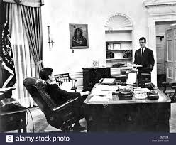 jfk in oval office. JOHN F KENNEDY US President In The White House Oval Office With Adviser Theodore Sorensen Ion 1962 Jfk T