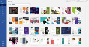 How To Write A Pamphlet On Word 040 Free Brochure Templates For Microsoft Word Simple Pretty