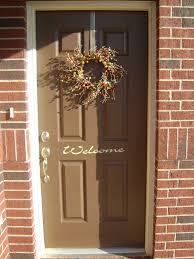 front door lightLight Brown Front Door  Stylish Decorating Brown Front Door