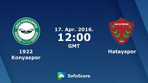 1922 Konyaspor Hatayspor live score, video stream and H2H results -  SofaScore