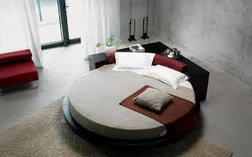 View in gallery Gorgeous circle bed with drawers in the back for storage