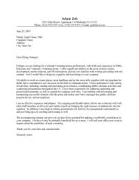 Media Relations Cover Letters Rome Fontanacountryinn Com