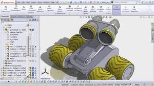 Cad Robot Design Solidworks 101 Design A Robot In Solidworks