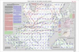 Buy North Atlantic Ocean Pilot Chart For May 2002